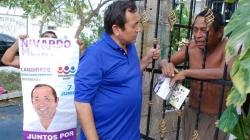 Escucha Nivardo Mena demandas ciudadanas