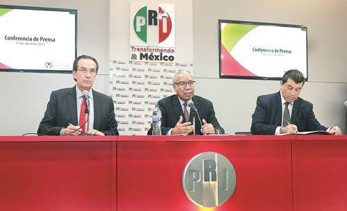 Exámenes de confianza del PRI, bajo reserva
