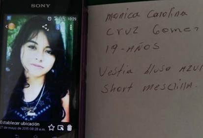 Piden la ayuda para localizar a jovencita desaparecida