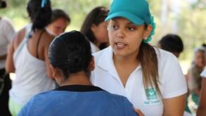 Llama Gabriela Barquet  al voto real en  Lázaro Cárdenas