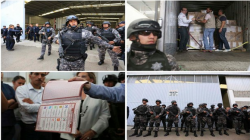 Llega material electoral a Michoacán bajo un fuerte dispositivo de seguridad