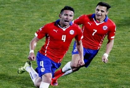 Chile derroca a Uruguay y avanza a Semifinales