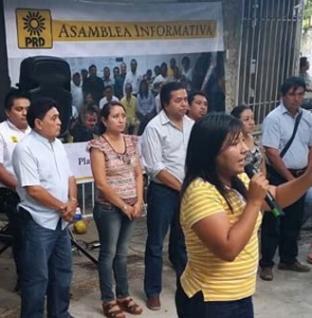 Celebra PRD Solidaridad primera asamblea informativa