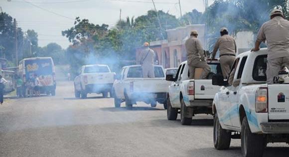 Realizan nebulizaciones en 16 poblaciones rurales