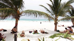 "Busca Tulum certificación de playas ""Blue Flag"""