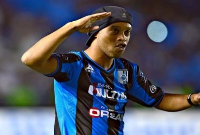 Se despide Ronaldinho de México con un emotivo mensaje