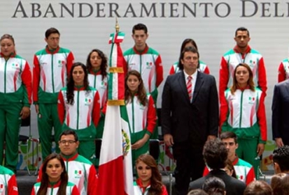 Abanderan a delegación mexicana que irá a Panamericanos