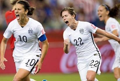 Triunfa EU en Mundial Femenil de futbol