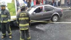 Muere conductor al escapar de una grúa en la Ciudad de México