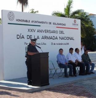 """Conmemoran el XXIV aniversario del día de """"La Armada Nacional"""""""
