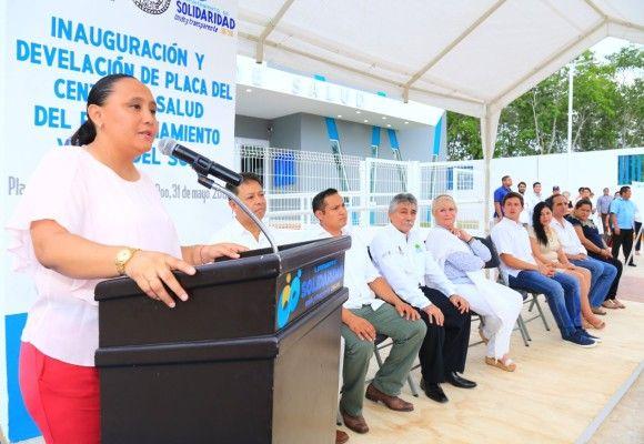 Entrega cristina torres nuevo centro de salud en villas for Sol del centro