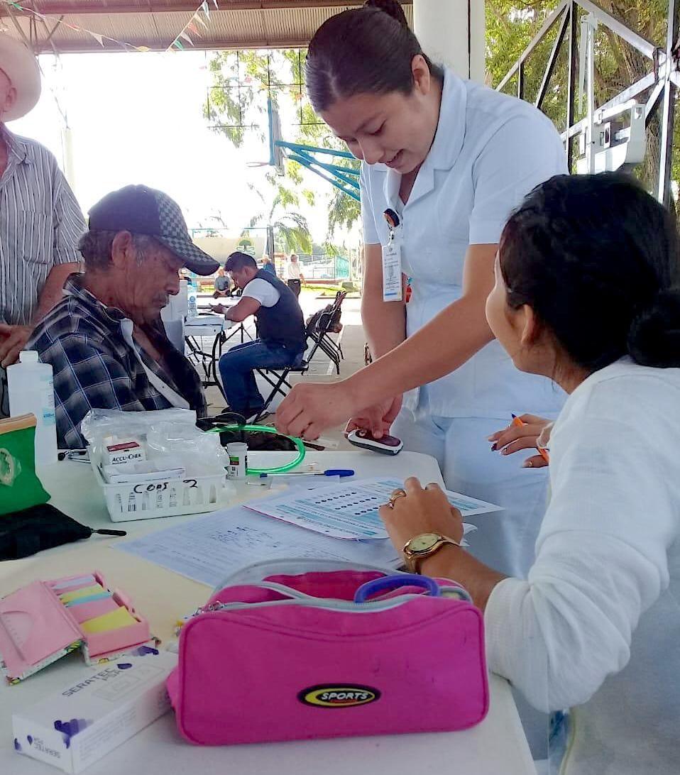 Realizan Feria De La Salud En Benéfico De 882 Habitantes